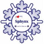 Amo mi Sphynx (el gato masculino) Esculturas Fotográficas
