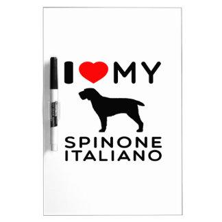 Amo mi Spinone Italiano Pizarras