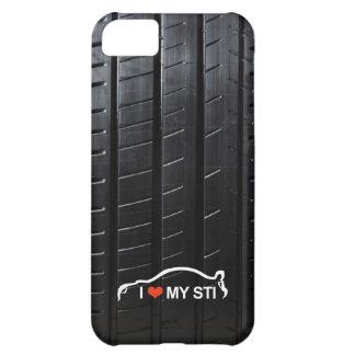 Amo MI STI en pisada del neumático Carcasa iPhone 5C