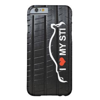 Amo MI STI en pisada del neumático Funda Para iPhone 6 Barely There