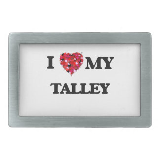 Amo MI Talley Hebilla Cinturón Rectangular
