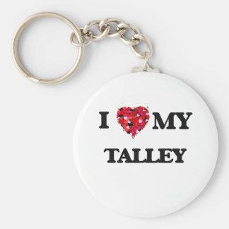 Amo MI Talley Llavero Redondo Tipo Pin