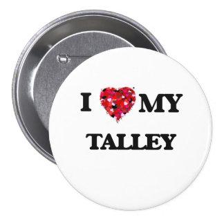Amo MI Talley Pin Redondo De 3 Pulgadas