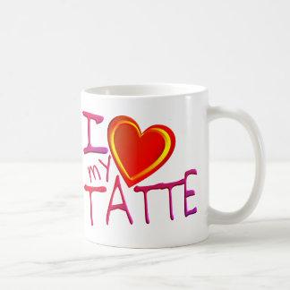 Amo mi Tatte Taza De Café