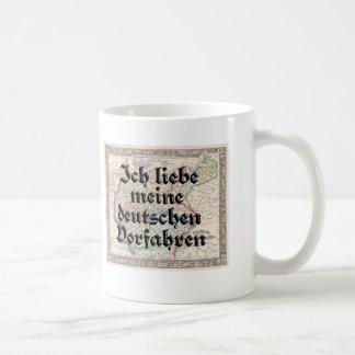 Amo mi taza alemana de los antepasados