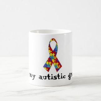 Amo mi taza autística del nieto