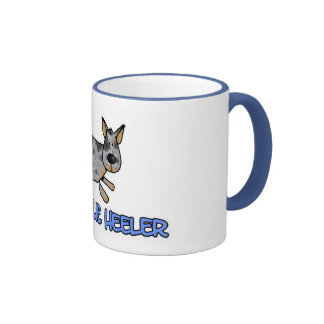 amo mi taza azul del heeler