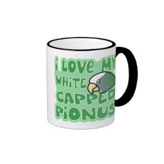Amo mi taza capsulada blanco de Pionus