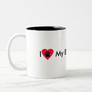 Amo mi taza de Basset Hound