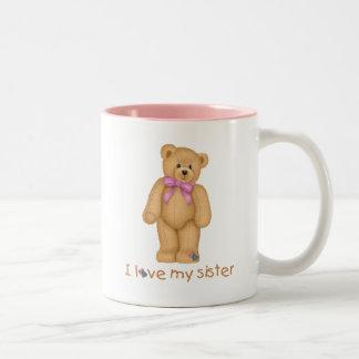 Amo mi taza de café de la hermana