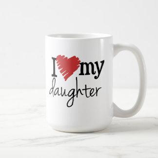 Amo mi taza de café de la hija