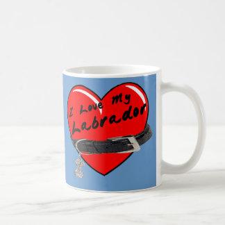 Amo mi taza de café de Labrador