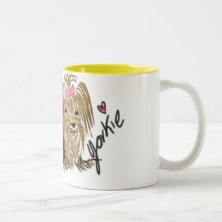 Amo mi taza de café de Yorkie