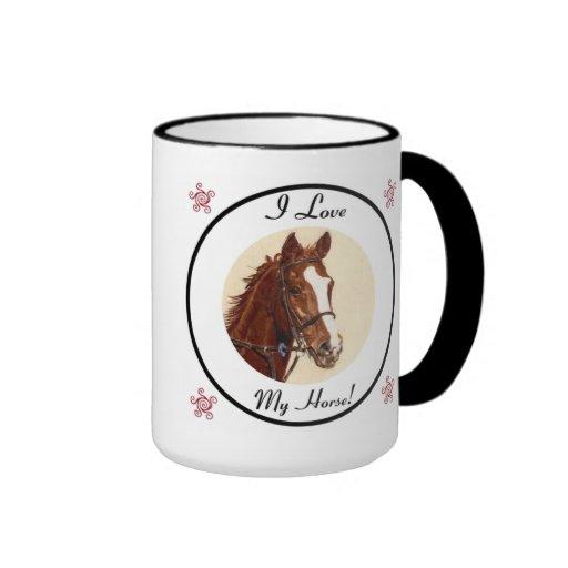 Amo mi taza de café del caballo