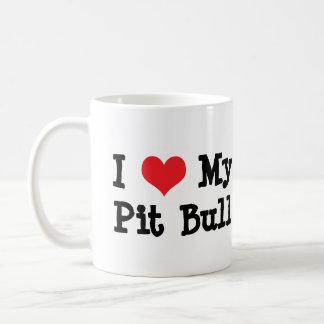 Amo mi taza de café del pitbull