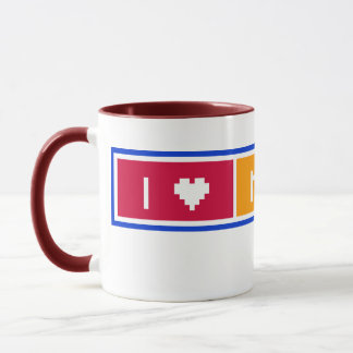 Amo mi taza de la momia