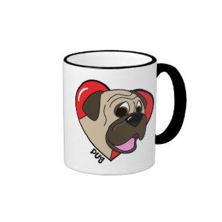 Amo mi taza del barro amasado (el dibujo animado)