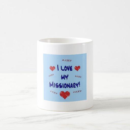 Amo mi taza del misionario
