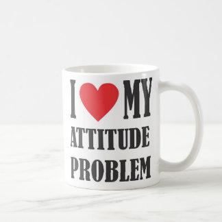 Amo mi taza del problema de la actitud