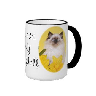 Amo mi taza del ragdoll