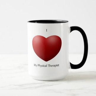 Amo mi taza del terapeuta físico