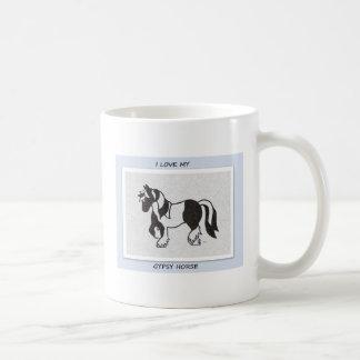 Amo mi taza gitana del caballo