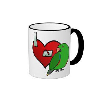 Amo mi taza masculina de Vosmaeri Eclectus