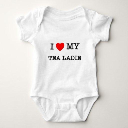 Amo mi TÉ LADIE T-shirts
