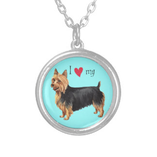 Amo mi Terrier australiano Grimpola Personalizada