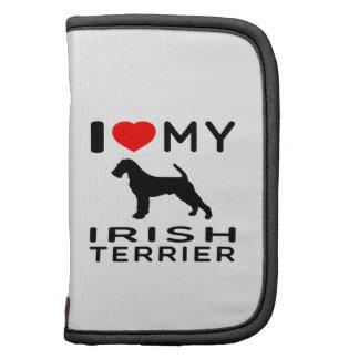 Amo mi terrier irlandés planificadores