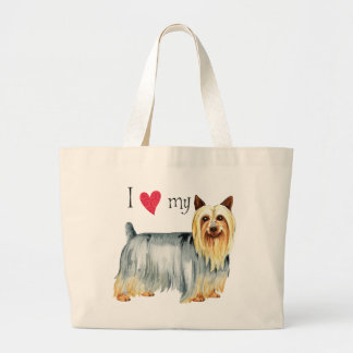 Amo mi Terrier sedoso Bolsa