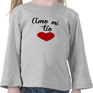 Amo MI Tío Camisetas