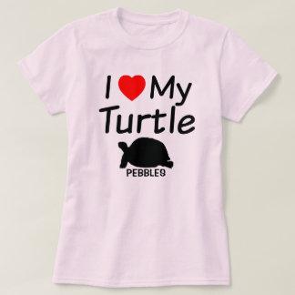 Amo mi tortuga camisas