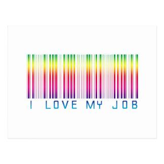 Amo mi trabajo 02 postal