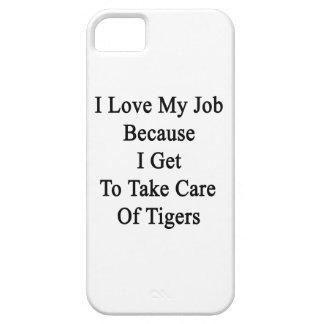 Amo mi trabajo porque consigo tomar el cuidado de iPhone 5 protector