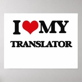 Amo mi traductor poster