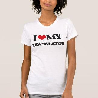 Amo mi traductor tee shirt