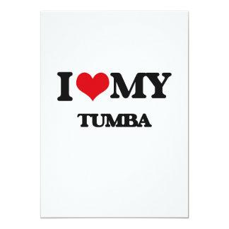 "Amo mi TUMBA Invitación 5"" X 7"""