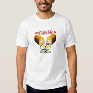 Amo mi Twinkies - camiseta de los gemelos del Playera