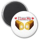 Amo mi Twinkies - imán