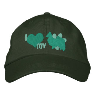 Amo mi verde de Papillon Gorra Bordada