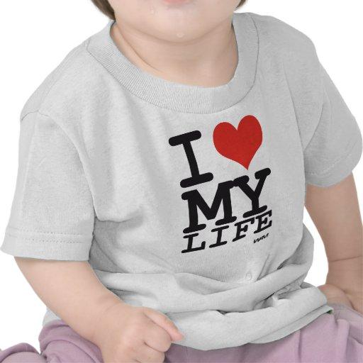 amo mi vida camisetas