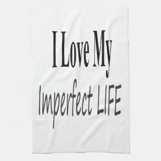 Amo mi vida imperfecta toallas