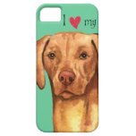 Amo mi Vizsla iPhone 5 Case-Mate Cárcasa