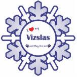 Amo mi Vizslas (los perros múltiples) Escultura Fotográfica