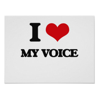 Amo mi voz posters