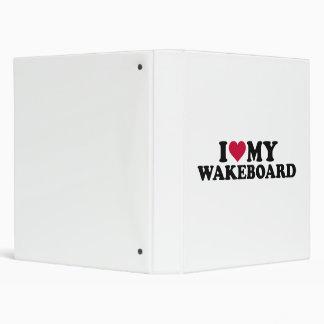 "Amo mi Wakeboard Carpeta 1"""