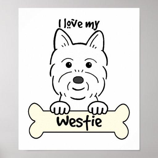 Amo mi Westie Impresiones