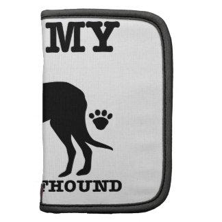 Amo mi wolfhound irlandés planificadores