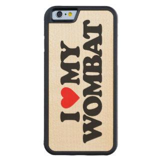 AMO MI WOMBAT FUNDA DE iPhone 6 BUMPER ARCE